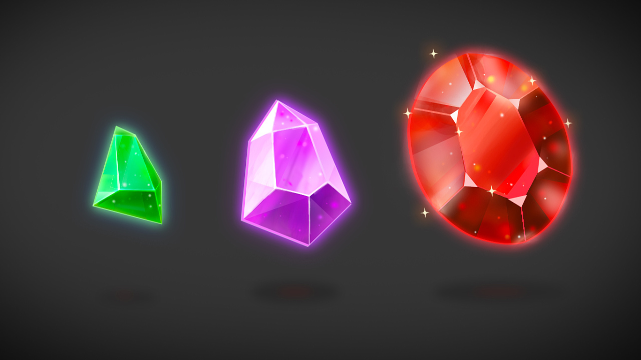 透明小宝石