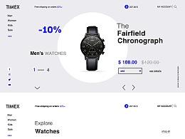 TIMEX天美时手表官网设计1.0
