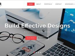 快速完成网页设计,10个顶尖响应式HTML5网页模板助你一臂之力
