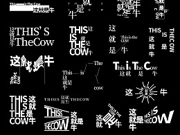 【字演生肖】文字编排的可变性实验Part.5