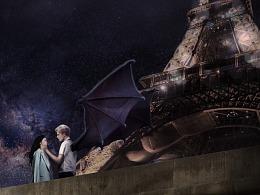 电影《暮光巴黎》 海报设计