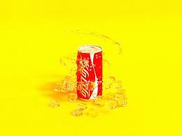 可乐建模渲染