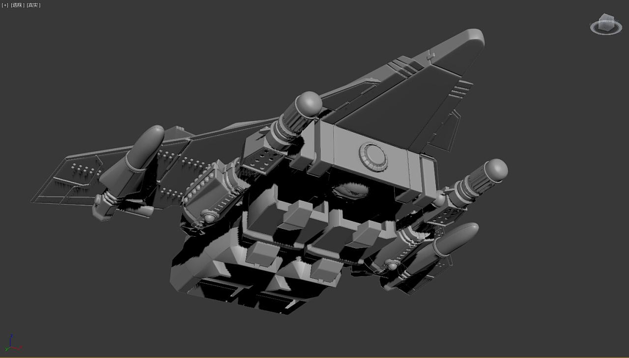 变形飞机|三维|其他三维|梁锐康 - 原创作品 - 站酷