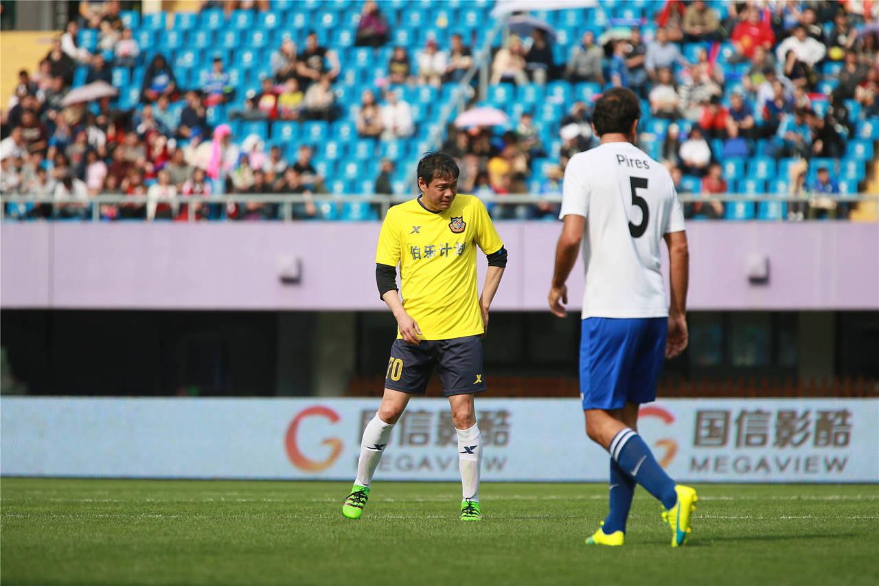 2016欧冠全明星VS中国香港明星足球队友谊赛