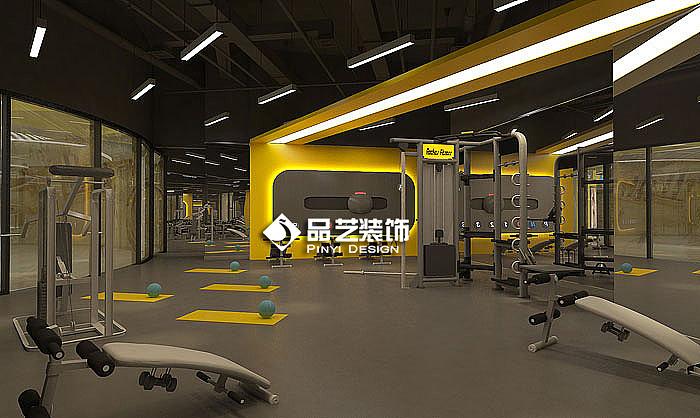 瑜伽loft风健身房工业工作室装修设计|空间|室内设计打火机模具设计v瑜伽图片