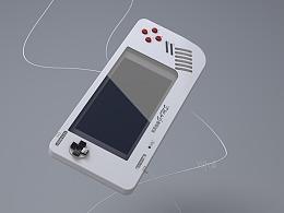 C4D 游戏机