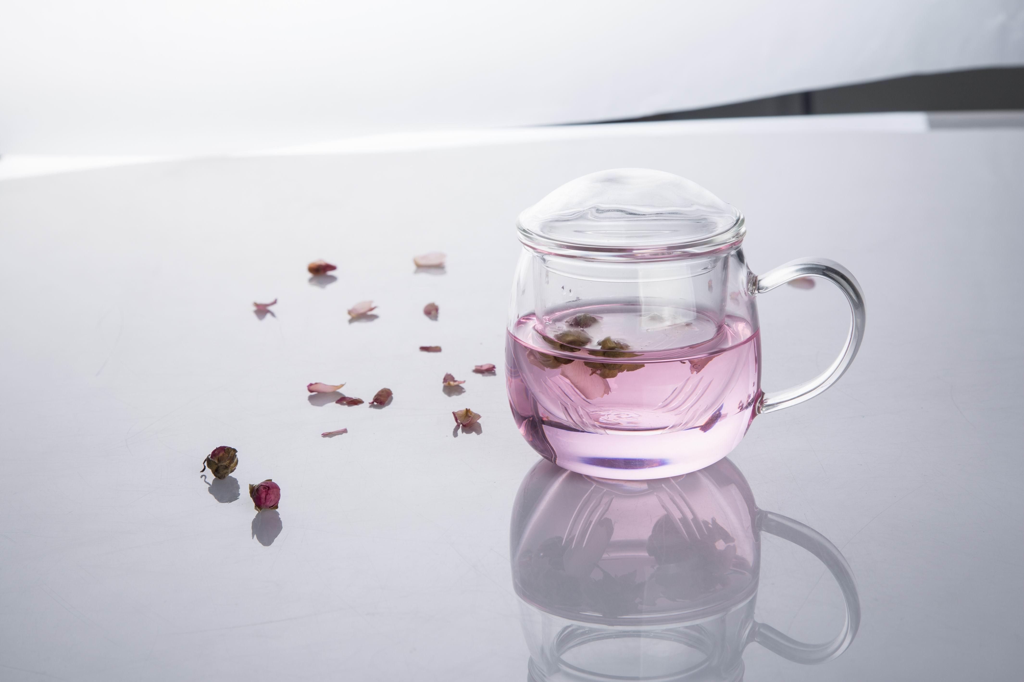 小清新 玻璃杯图片