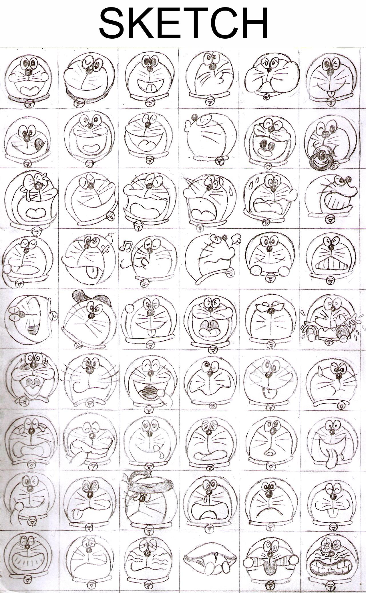 多啦A梦表情|动漫|其他动漫|kimiLIU-原创作标准包搞笑偶表情图片