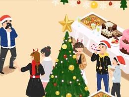 圣诞节动画/企业活动宣传片【京基】