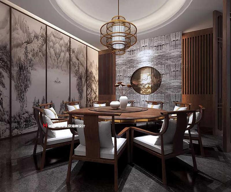 贵阳墨府餐厅音乐古风v餐厅建筑设计费计取图片