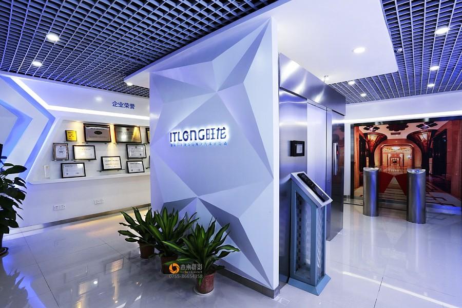 旺龙科技展厅拍摄 室内摄影 深