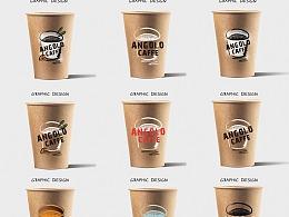 咖啡纸杯图案设计 (已商用)