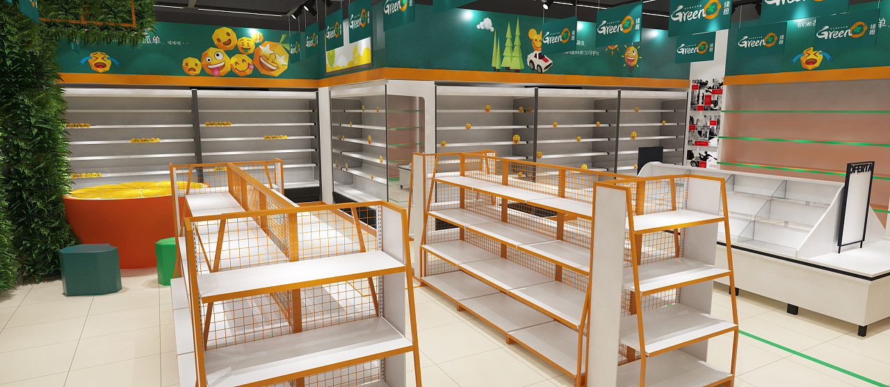 超市改造,无人超市