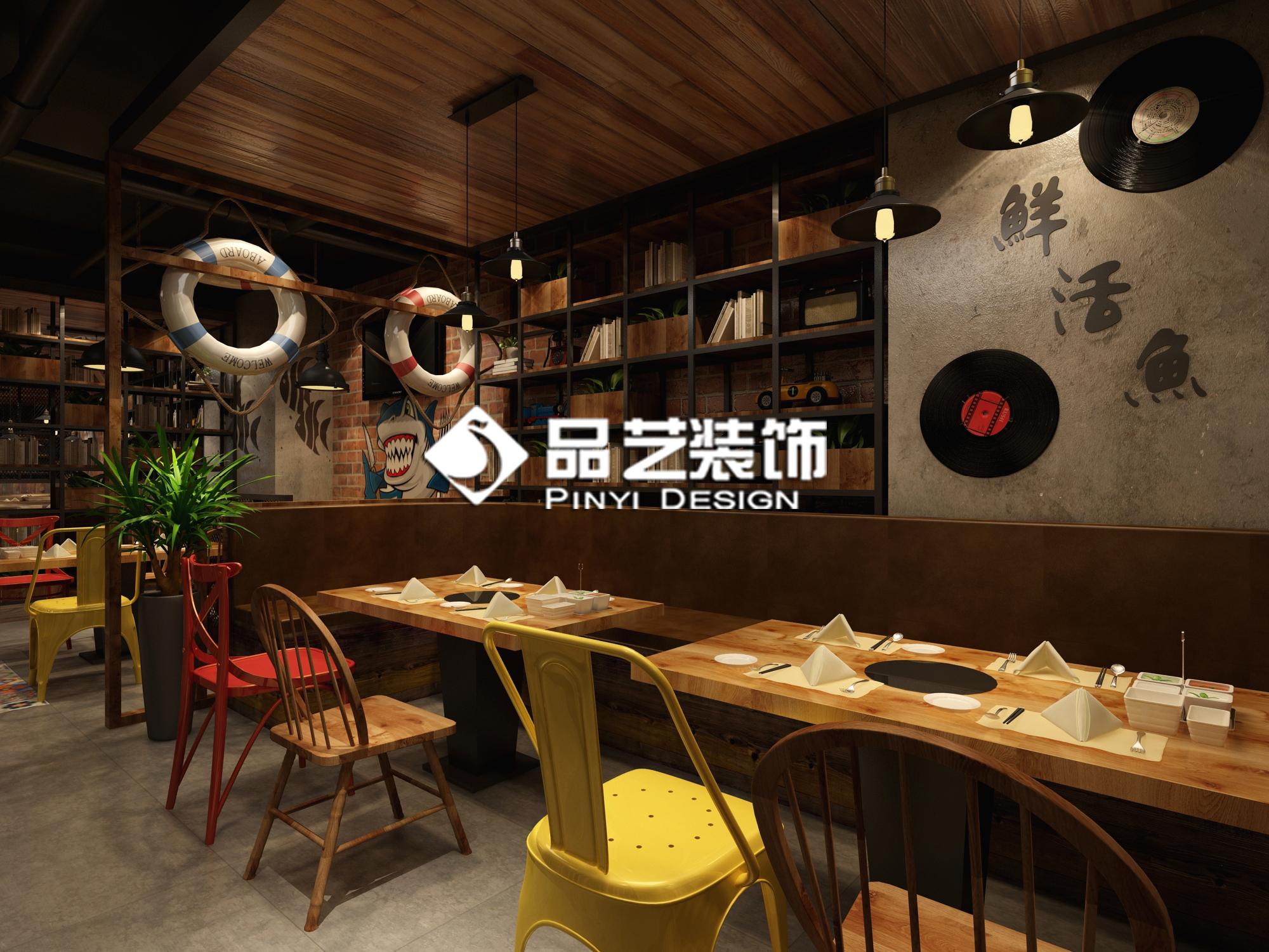 南宁《柠檬鱼》火锅餐厅 空间 室内设计 品艺装饰