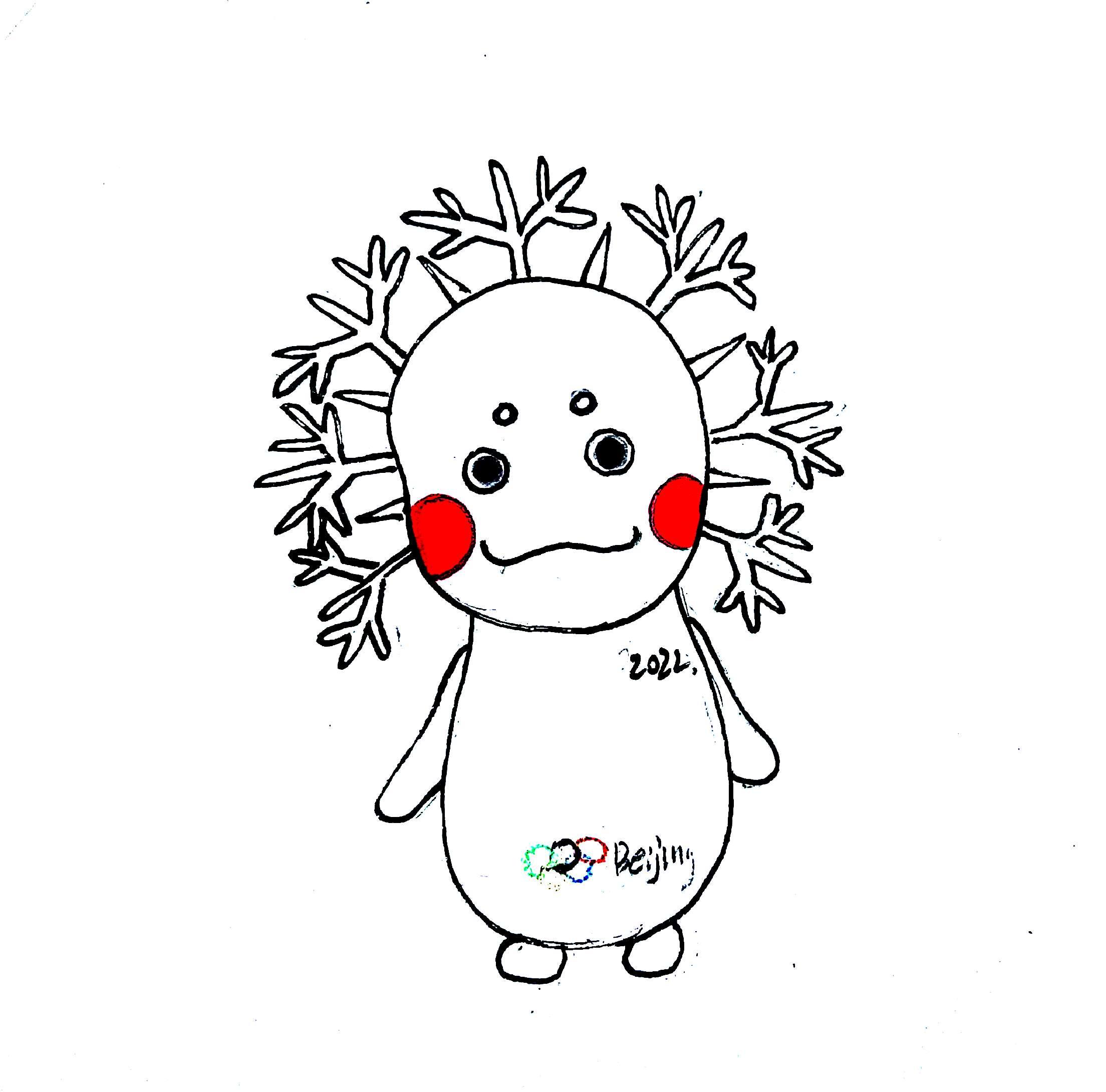 2022年冬奥会儿童画图片 220451 2208x2180图片