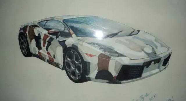 5年前的一些马克笔手绘,看着颇有回忆.|交通工具|工业