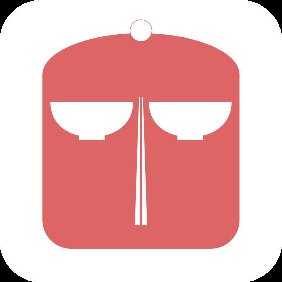 美食小姐app图标设计