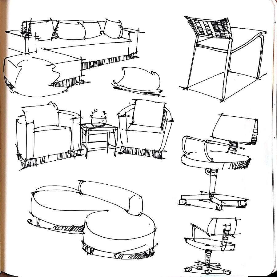 室内手绘效果图马克笔,室内设计手绘图步骤,室内设计手绘图入门