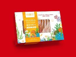 巨灵设计:食用海产品小包装