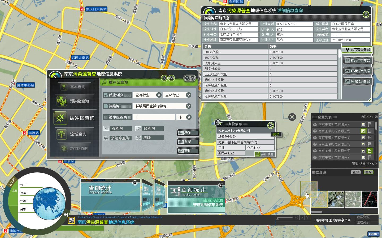 GIS地理信息系统平台设计