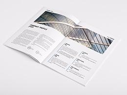 建设公司画册
