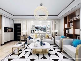 白色调的优雅:小空间里的轻奢风