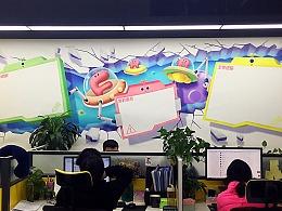 企业文化墙绘