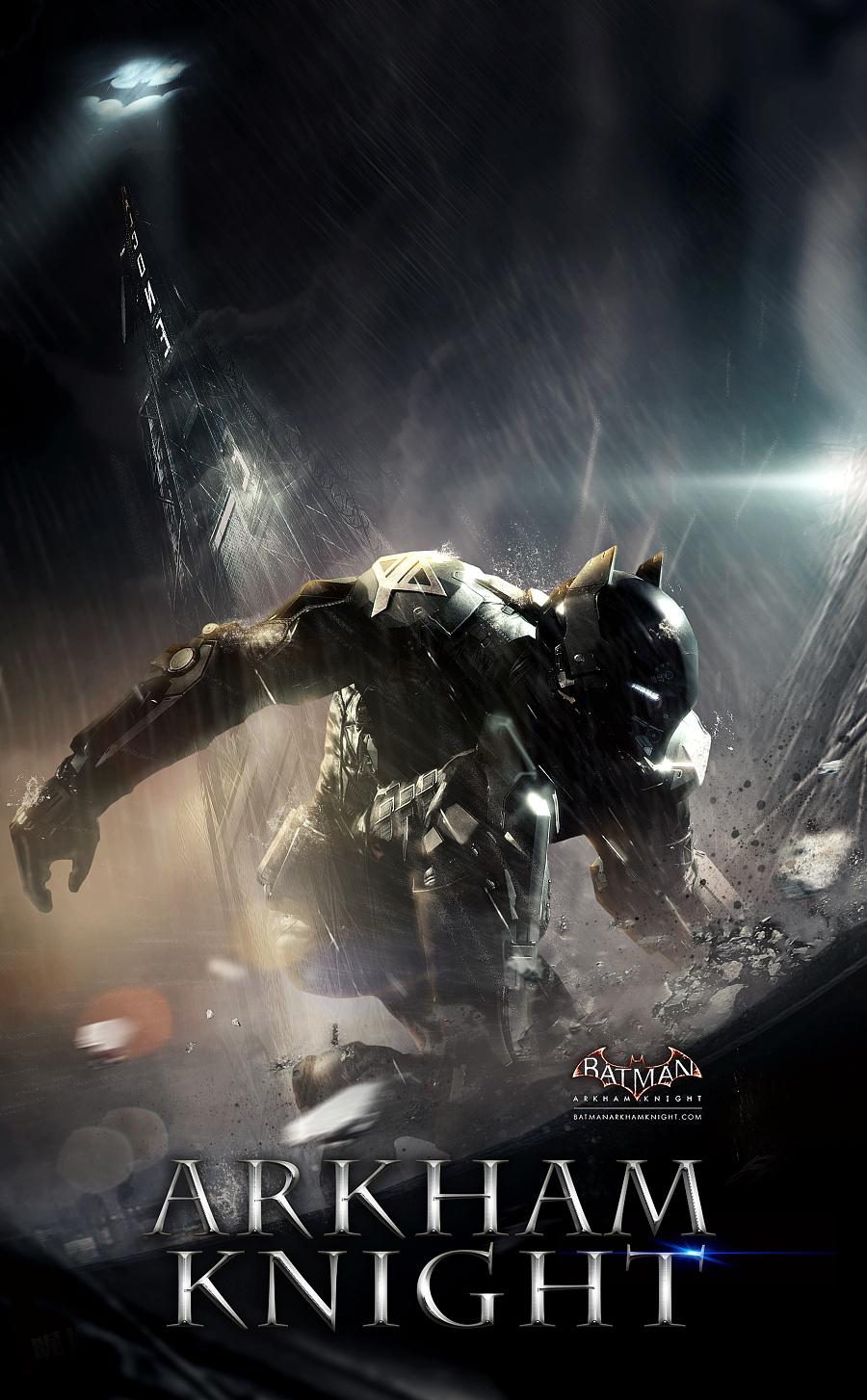 第十斩,2015年7月10日 br>batman: arkham knight 游戏概念海报设计图片