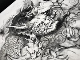 515刺青手稿