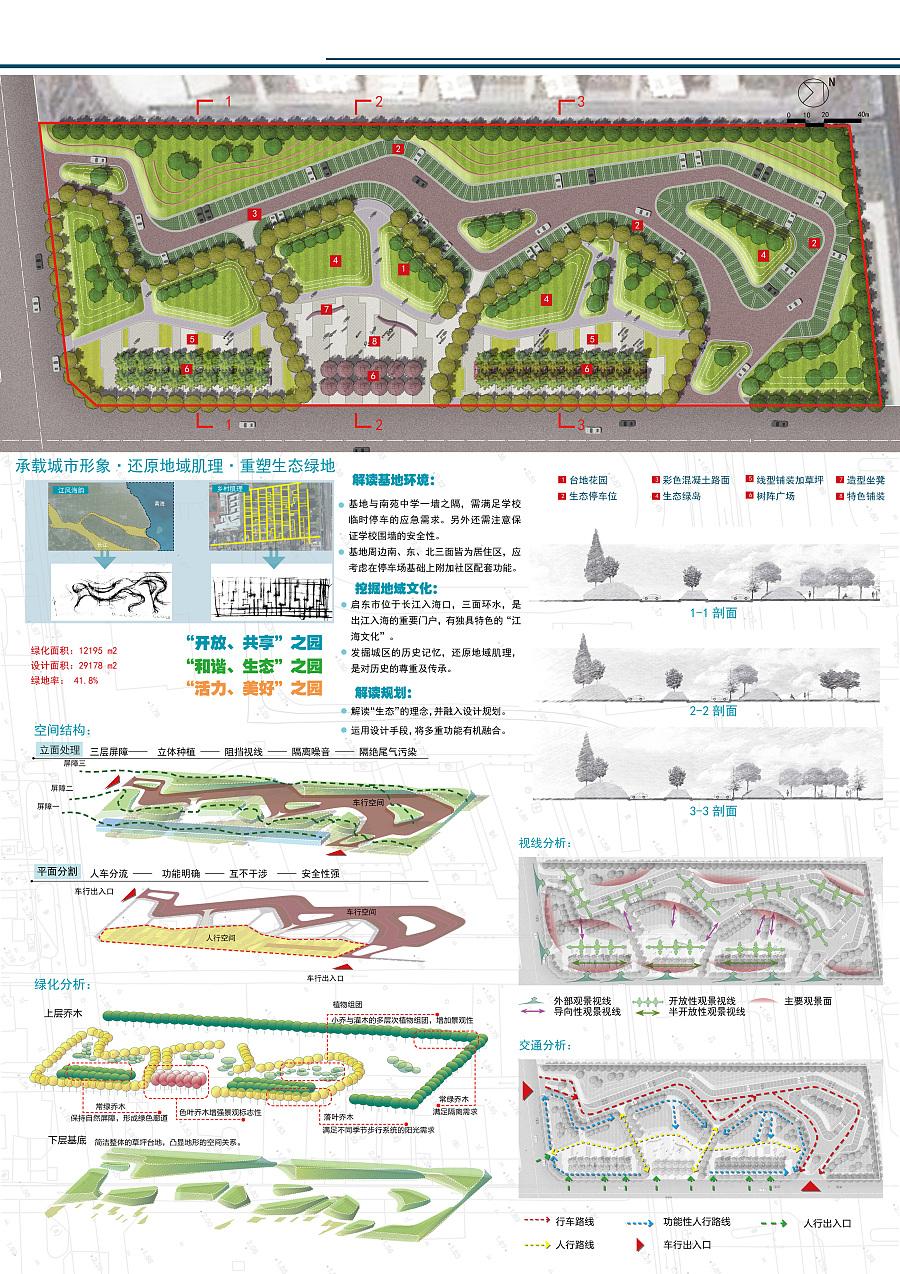 公园生态与社区停车场相结合|园林景观/v公园|空北京昌平园林设计有限公司