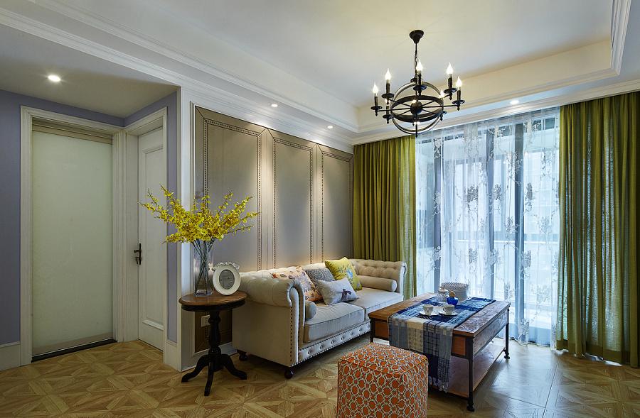 贵阳华润案例风格装修国际,小美式社区装修设室内设计c班图片