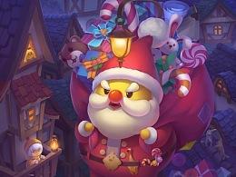 圣诞超载老鸡