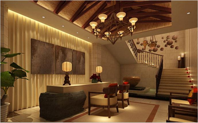內江美容院設計丨美怡美容院設計裝修|室內設計|空間