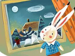 兔子和来自海上的风