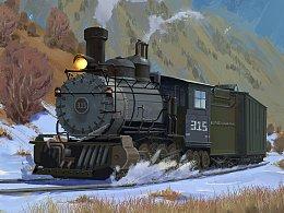 老火车~~