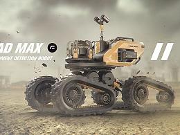 《MAD MAX》沙漠环境探测者ROBOT
