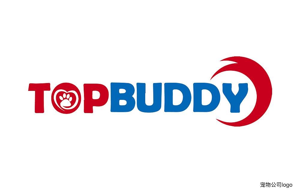 这个是一家宠物外贸公司的logo,用动物的尾巴,爪印与名称结合方式设计