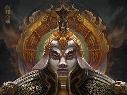 【天蓬元帅】-【玉皇大帝】-【灵感大王】