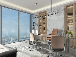 睿姿国际-猛瘦 办公体验空间设计