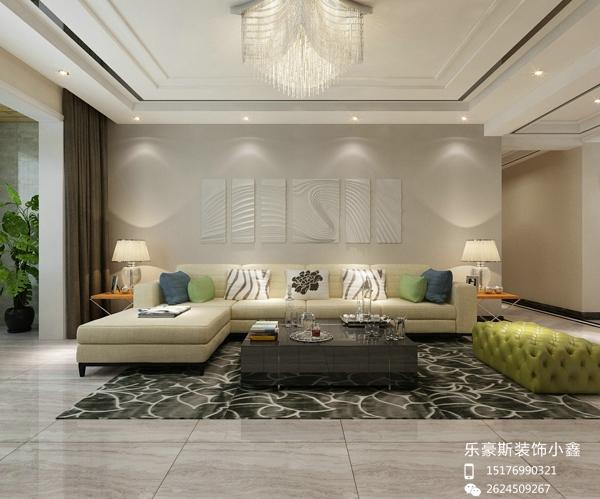 奥北公元152平米现代三居室装修方案