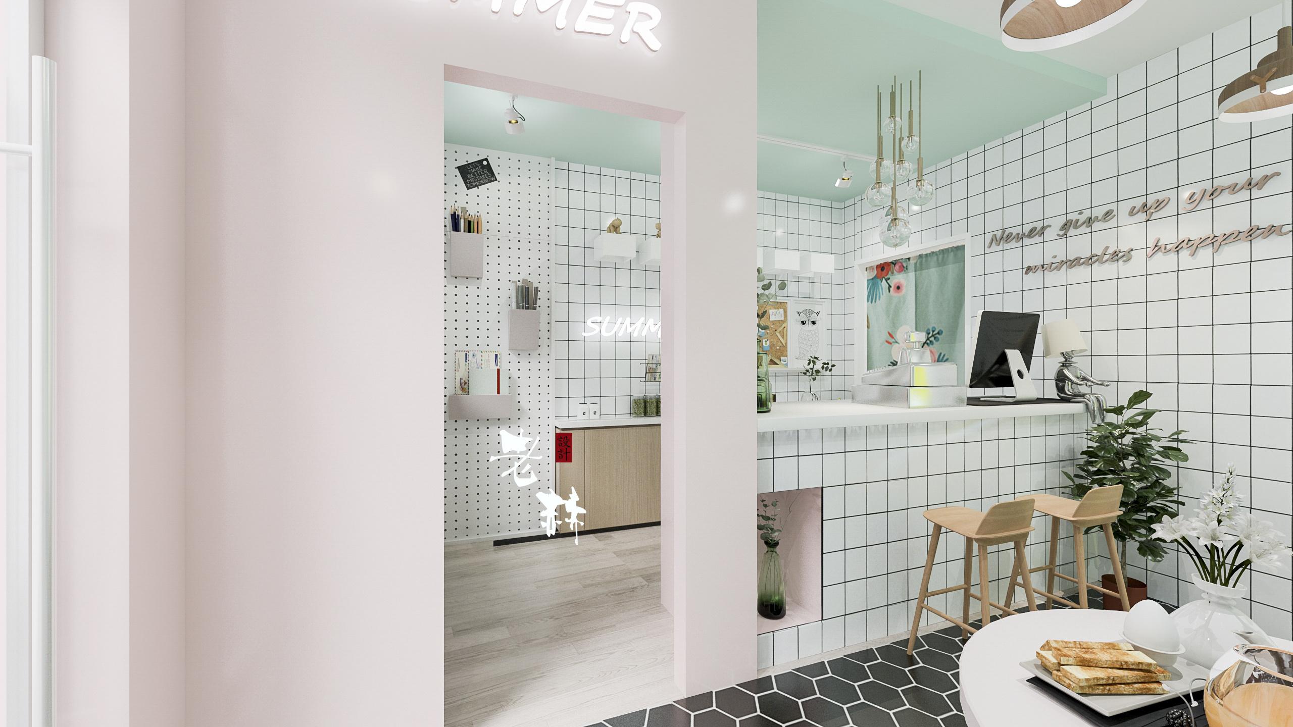 烘焙蛋糕店|空间|室内设计|rohenry - 原创作品