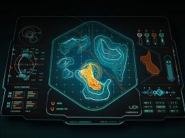 科技感地图