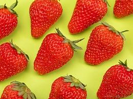 《草莓!风格多变的草莓!》——美食摄影