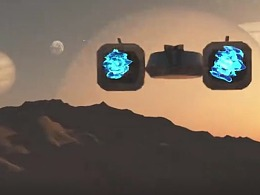 《飞向地球》 两个初二学生的三维小动画