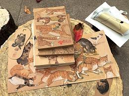 《猫奴日记本&书签》总合