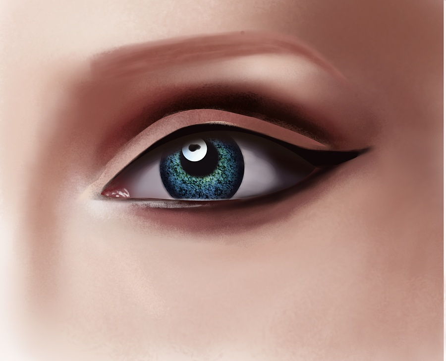 原创作品:手绘-眼睛