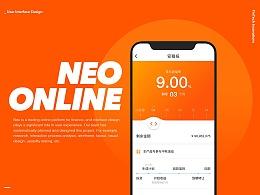 UI design for Neo Online
