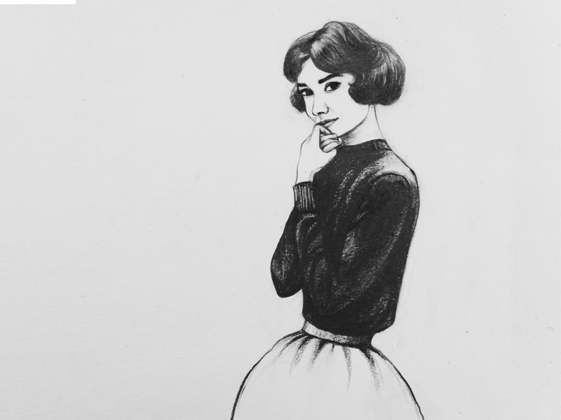 原创作品:铅笔手绘