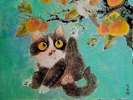 最近画的猫咪 希望大家喜欢