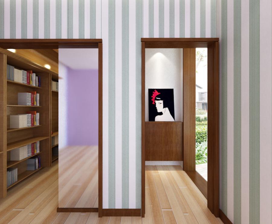 深圳全海单元户型案例装修花园|室内设计|大门空间大院厂子设计图图片